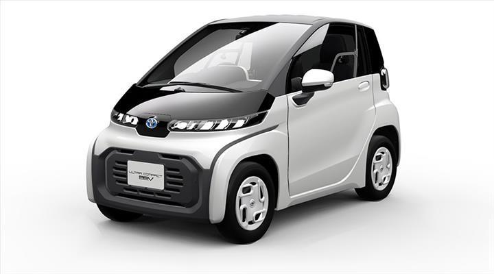 Toyota, Tokyo Otomobil Fuarı'nda minik elektrikli aracını tanıtacak