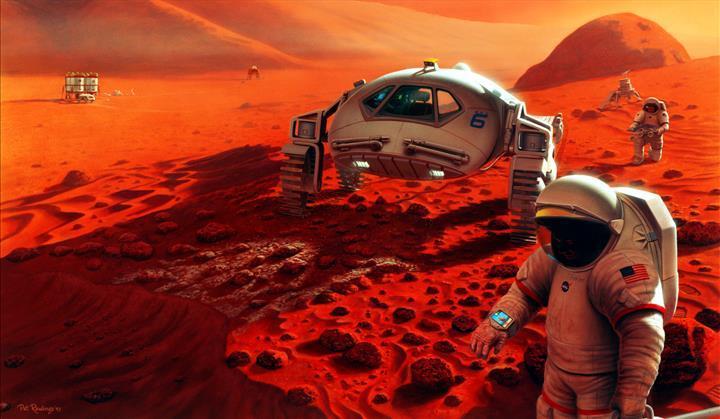 İnsanlık Mars'a ne zaman iniş yapacak? NASA başkanı tarih verdi