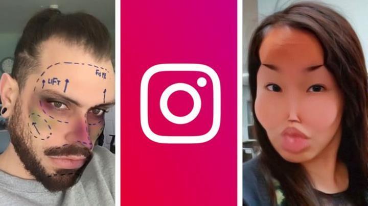Instagram, plastik cerrahi sonrasını gösteren filtrelerini kaldırıyor