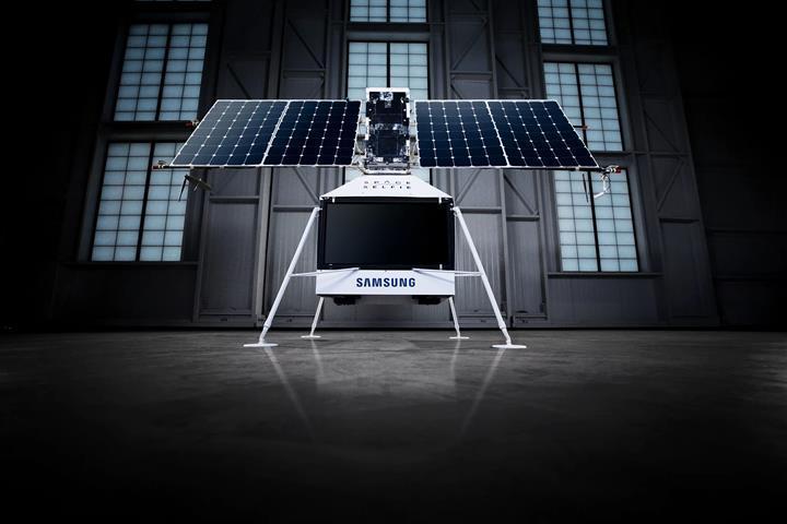 Samsung'un SpaceSelfie aracı bir çiftliğe düştü