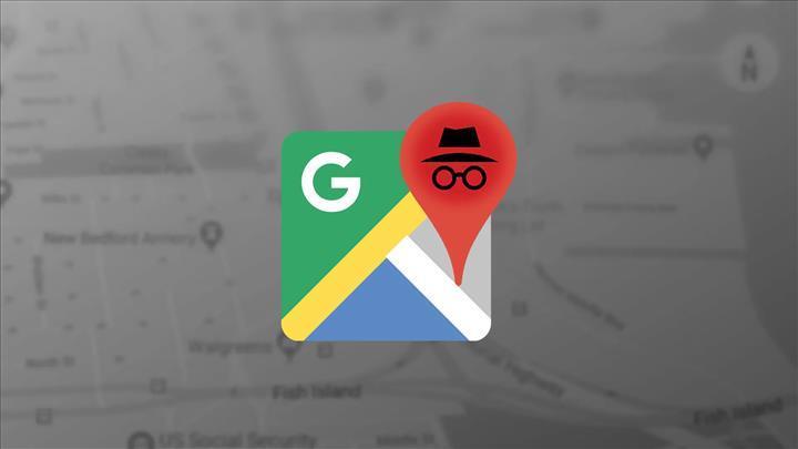 Google Haritalar uygulamasına gizli mod seçeneği geldi