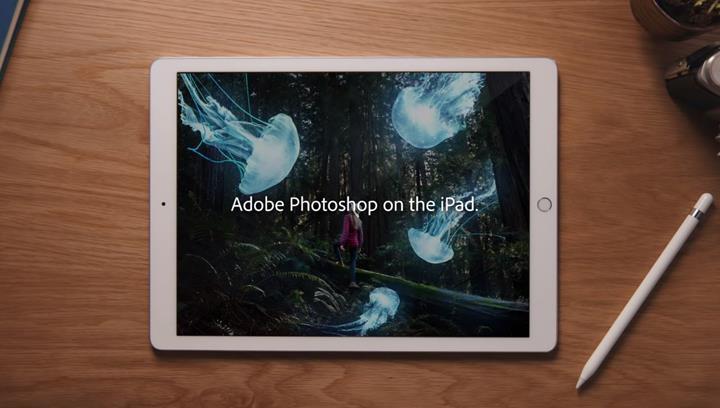 iPad için Adobe Photoshop uygulaması sonunda yayınlandı