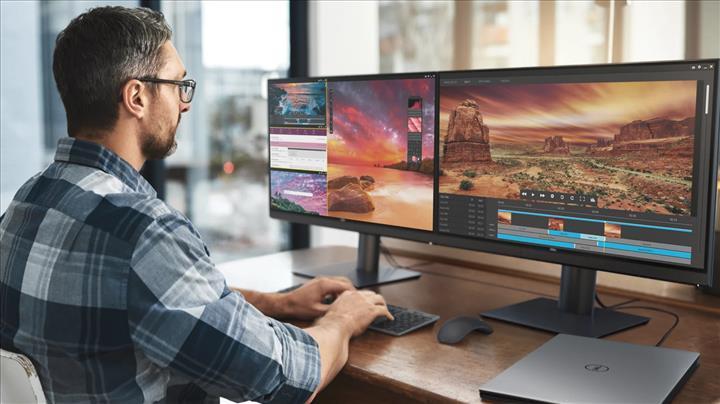 Dell renk ölçer özelliğe sahip, 27 inçlik 4K monitörünü tanıttı