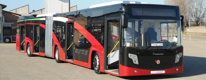Yerli üretici Karsan, Roma Belediyesine 227 otobüs teslim etti