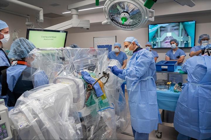 Beyne yerleştirilen elektrotlar, opiat bağımlılığını tedavide kullanılacak