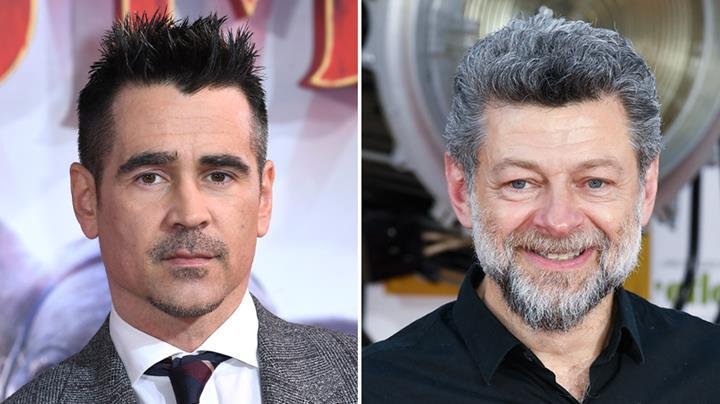 The Batman filmi için Colin Farrell ve Andy Serkis'in adları geçiyor