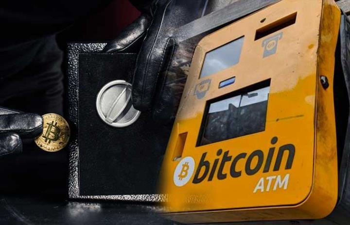 Kripto soygunu: Hırsızlar Bitcoin ATM deposuna sızdı