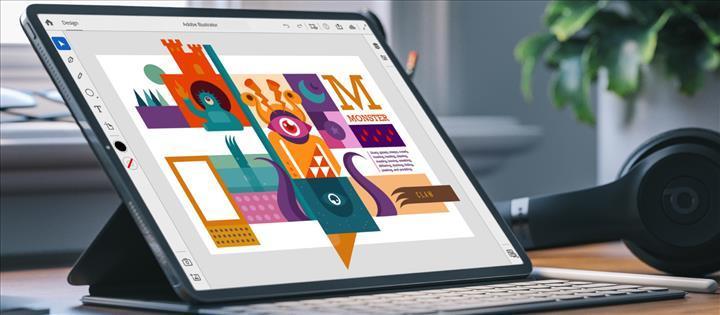 Adobe Illustrator, 2020 yılında iPad'e geliyor