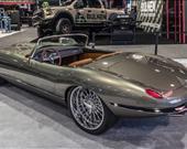 Özel yapım 1974 Jaguar E-Type