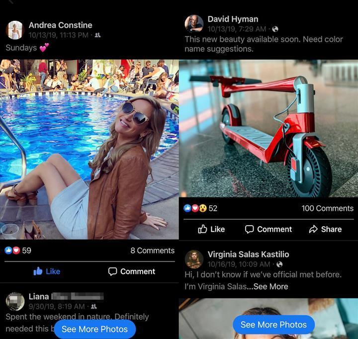 Facebook, Instagram'da yer alan bir özelliği test ediyor