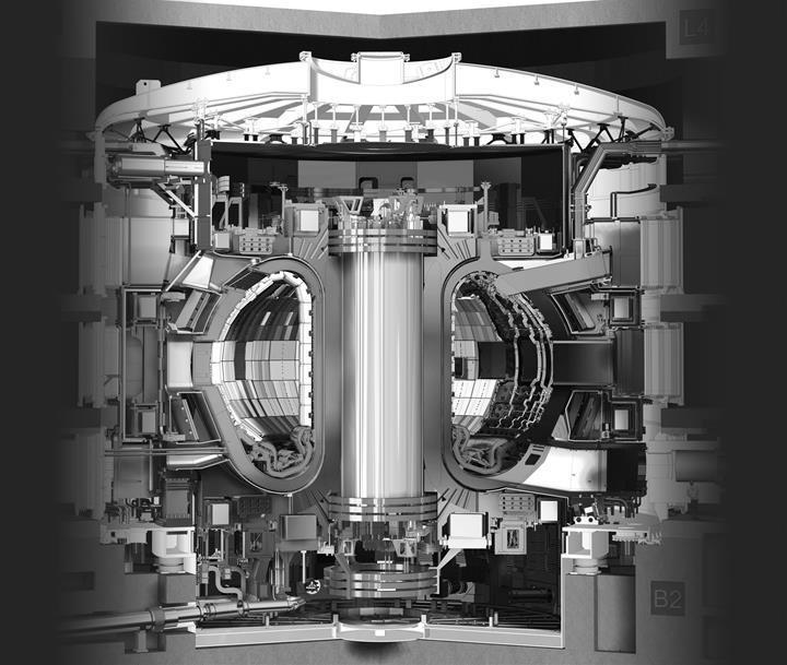 Dünyanın en büyük tokamak füzyon reaktörüne ev sahipliği yapacak binanın inşaatı tamamlandı