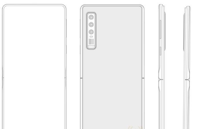 Huawei, Motorola Razr benzeri yeni bir katlanabilir telefon modeli üzerinde çalışıyor