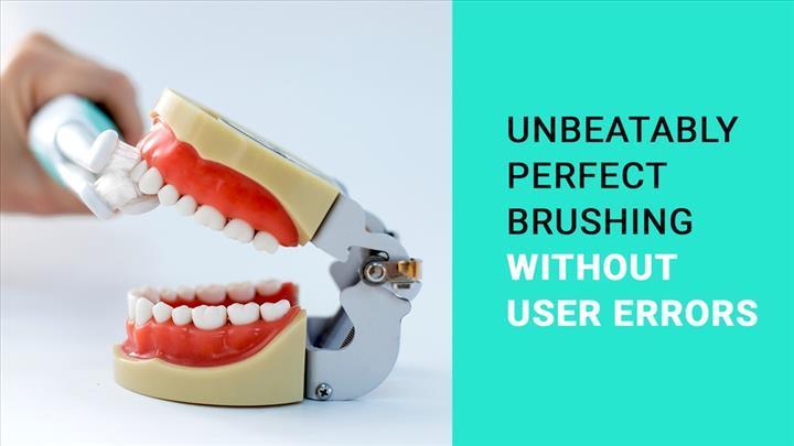 Dişlerin tüm yüzeylerini temizleyebildiği iddia edilen diş fırçası satışa sunulacak