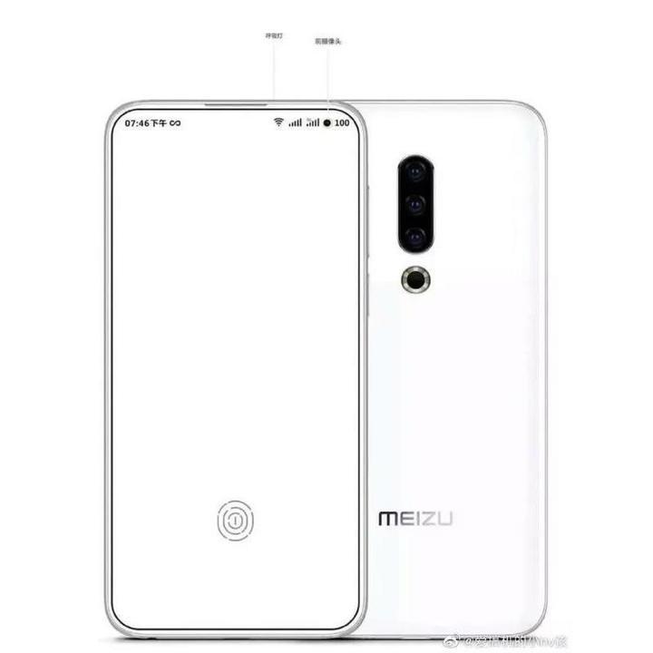 Meizu 17'nin tasarımını ortaya koyan yeni bir görsel yayınlandı