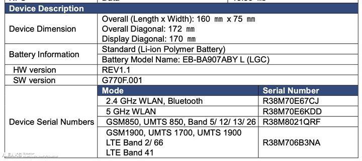 FCC onayı alan Samsung Galaxy S10 Lite için geri sayım başladı