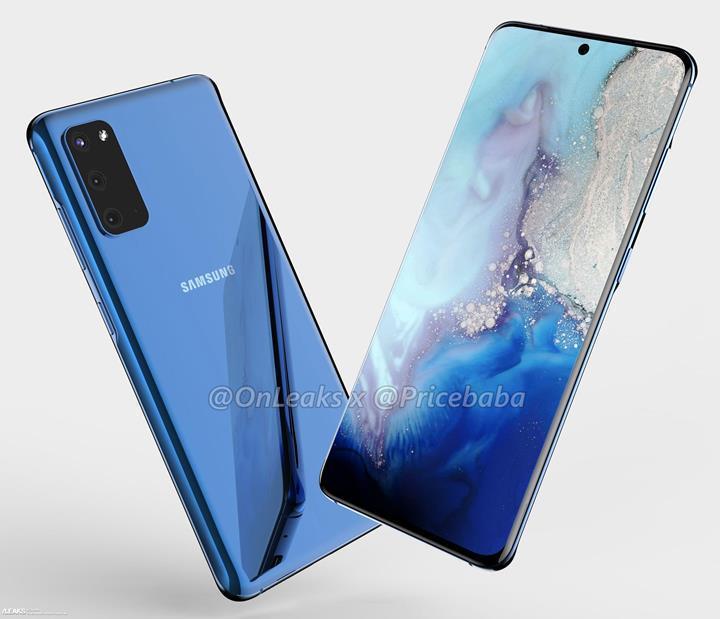 Samsung Galaxy S11e tasarımı ortaya çıktı