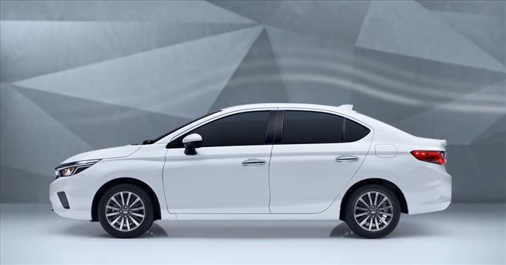 2020 Honda City, ilk kez sunulan RS paketiyle birlikte tanıtıldı