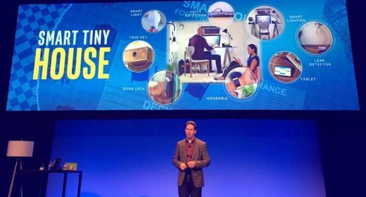 Intel bağlantılı ev aletleri bölümünü de satıyor