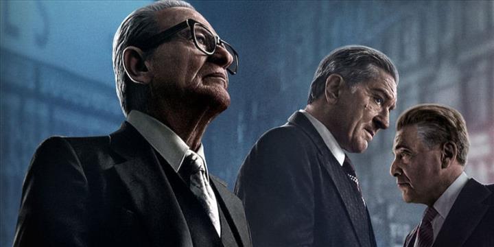 Netflix'in yeni filmi 'The Irishman' eleştirmenlerden tam not aldı