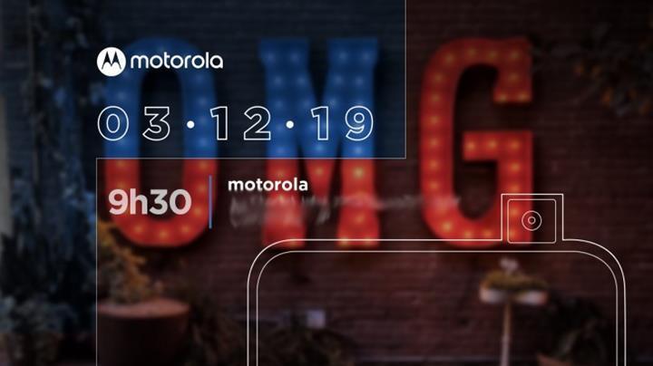 Motorola'nın ilk pop-up kameralı telefonunun lansman tarihi belli oldu