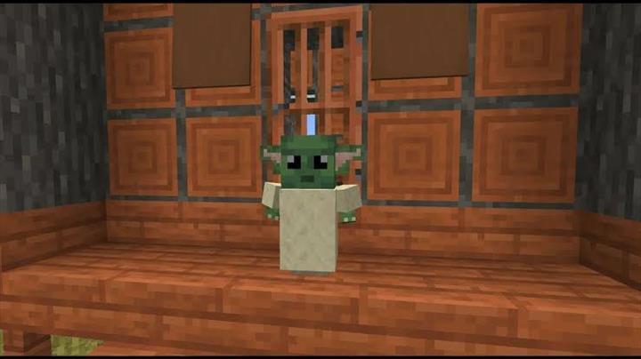 Minecraft Java versiyonuna Baby Yoda geliyor