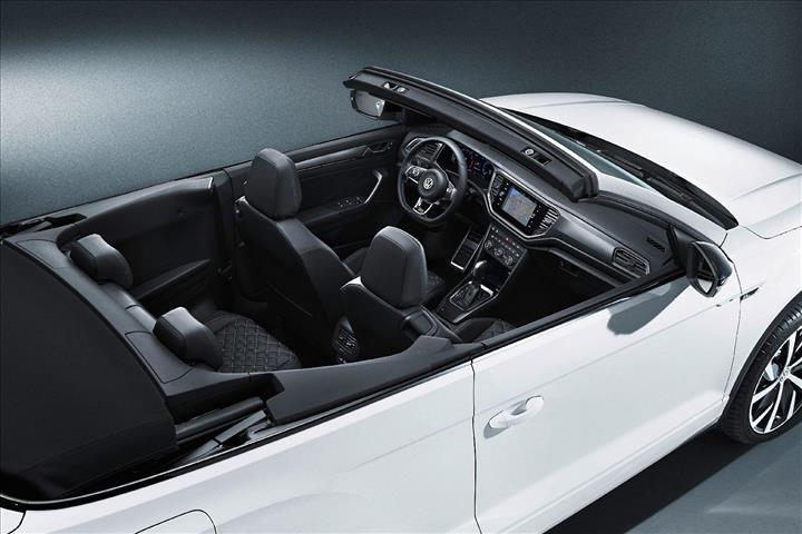 Üstü açılabilen crossover: Volkswagen T-Roc Cabriolet üretim bandına çıktı