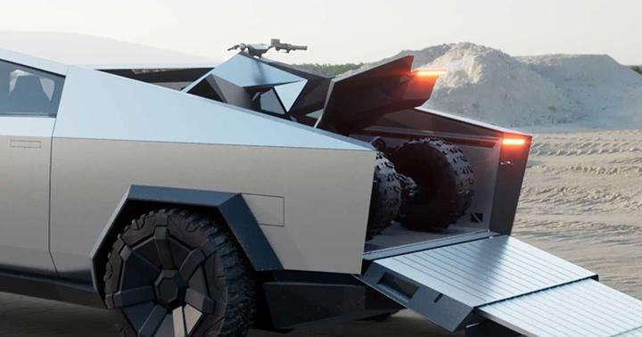 Tesla'nın Cyberquad elektrikli ATV'si Cybertruck ile aynı tarihte piyasaya sürülebilir