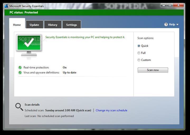 Microsoft, Windows 7'deki virüs yazılımı Security Essentials'ı artık güncellemeyecek
