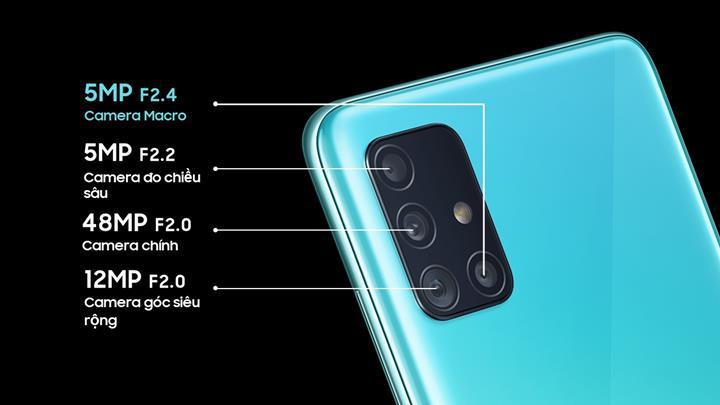 Samsung Galaxy A51 tanıtıldı: 6.5 inç ekran, 4.000 mAh pil, Android 10, dört arka kamera