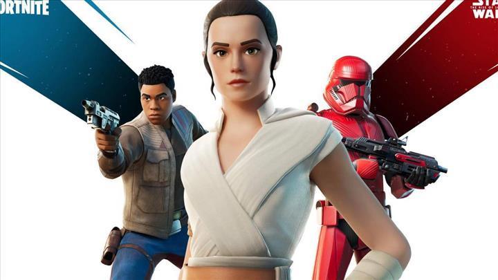 Star Wars görünümleri Fortnite oyununa eklendi