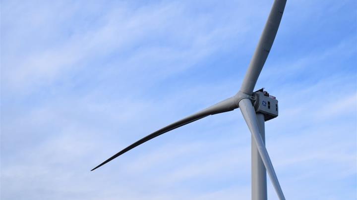 General Electric'in dev rüzgâr türbini enerji üretmeye başladı
