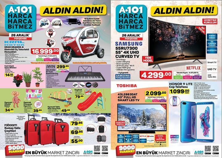 Haftaya A101 marketlerde daha uygun fiyata Honor 9 Lite modeli var