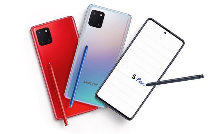 Samsung Galaxy Note 10 Lite resmi özellikler sayfası sızdırıldı: İşte fiyatı ve özellikleri
