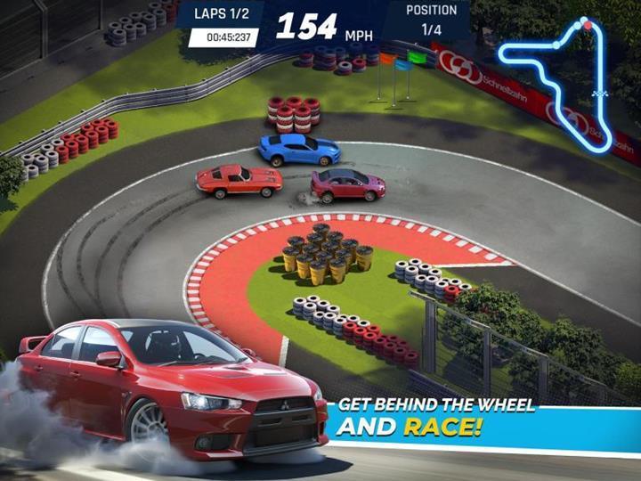 Gameloft Overdrive City oyunu Android'e geliyor.