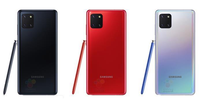 Samsung Galaxy Note 10 Lite çalışır halde görüntülendi