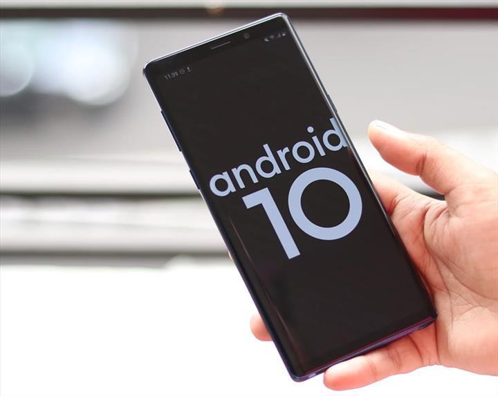 Galaxy Note 9 için kararlı Android 10 güncellemesi genel kullanıma sunuldu
