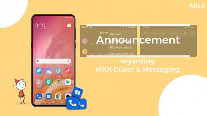 Xiaomi telefonlar Google Arama ve Mesajlaşma uygulamaları ile gelecek