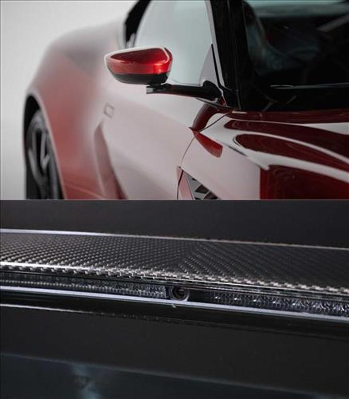 Aston Martin'in yeni kamera sistemi, dikiz aynasını üçe bölüyor