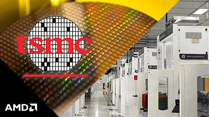 TSMC 7nm üretim bandının en büyük müşterisi AMD olacak