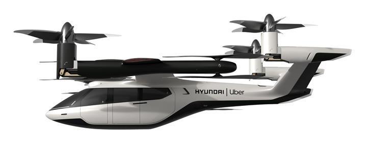 Hyundai uçan taksi işine el attı: Uber ile birlikte ilk modelini geliştirdi