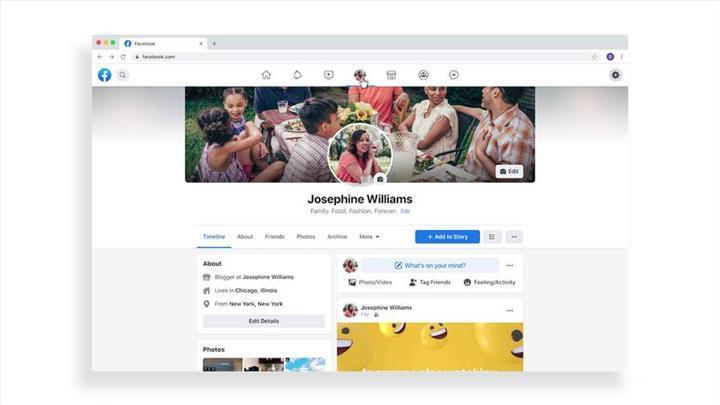Facebook, yenilediği masaüstü tasarımını test etmeye başladı