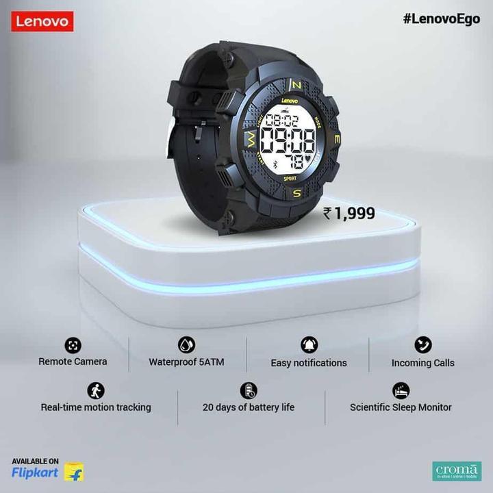 Lenovo Ego akıllı saati tanıtıldı