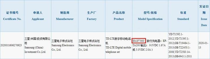 Samsung Galaxy Z Flip, 15W şarjı destekleyecek