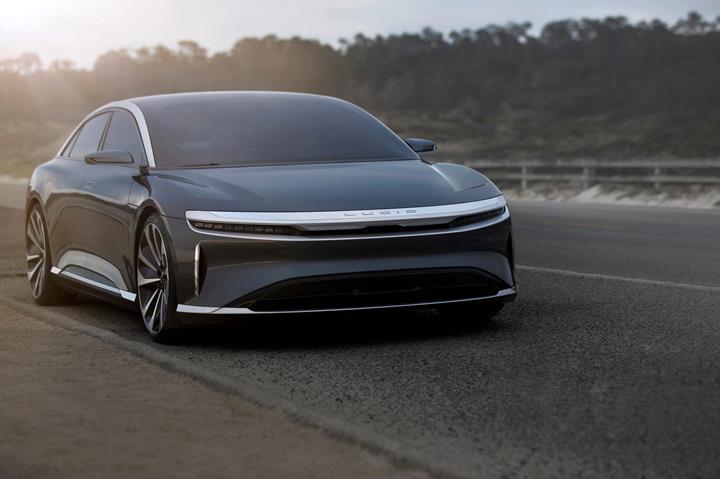 Elektrikli sedan Lucid Air'ın üretim versiyonu Nisan'da tanıtılacak