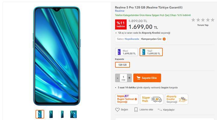 Realme yeniden Türkiye'de! İşte Realme telefonların Türkiye fiyatı