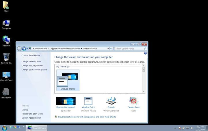 Windows 7'nin son güncellemesi duvar kağıdı özelliğini bozdu