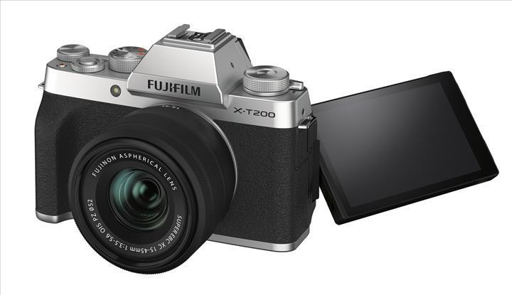 FujiFilm X-T200 aynasız kamera video dengelemede iddialı