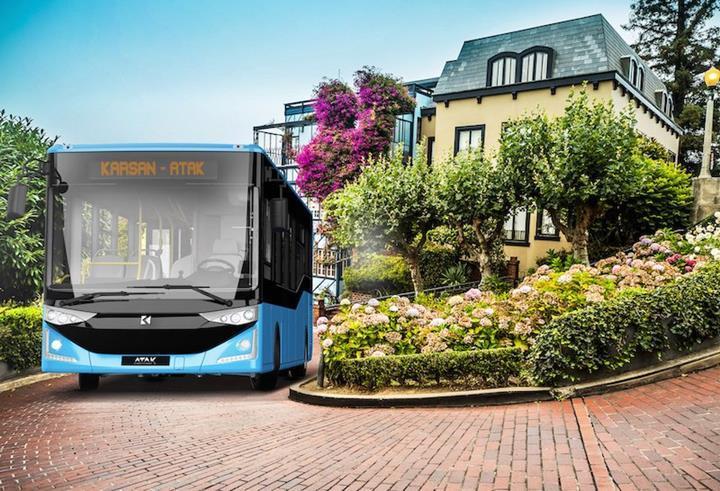 Yerli üretici Karsan, Polonya'da düzenlenen otobüs ihalesini kazandı