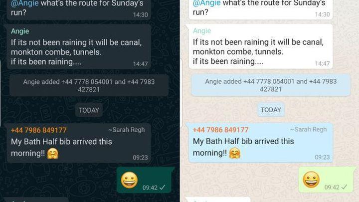 WhatsApp'ın Koyu Tema'sı