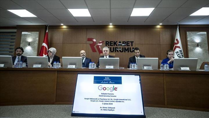 Google yetkilileri Rekabet Kurulunda sözlü savunma yaptı